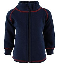Engel Zip Cardigan - Wool - Navy