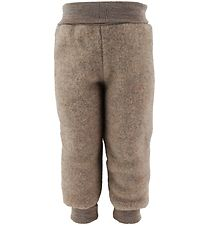 Engel Trousers - Wool - Walnut Melange
