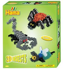 Hama Midi Set - 2500 stk - 3D - Insects
