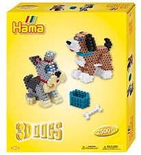 Hama Midi Set - 2500 Beads - 3D - Dogs