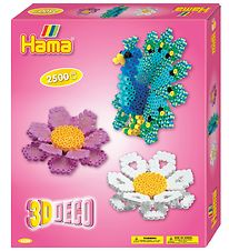 Hama Midi Set - 2500 Beads - 3D - Deco