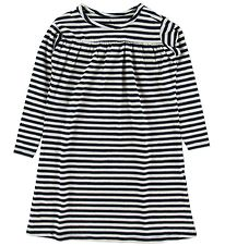 Nordic Label Nightdress - Black/Stripes