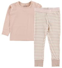 Nordic Label Pyjama Set - Rose Powder/Striped