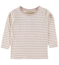 Nordic Label Long Sleeve Top - Rose Powder/Stripes