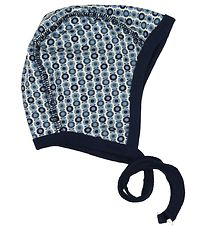Katvig Baby Hat - Blue/Apples