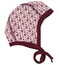 Katvig Baby Hat - Purple/Apples