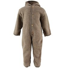 Engel Pramsuit - Wool - Walnut Melange