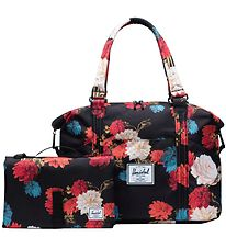 Herschel Changing Bag - Strand Sprout - Vintage Floral Black