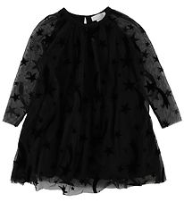Stella McCartney Kids Dress - Black w. Stars/Wings