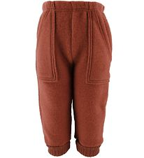 Joha Trousers - Wool - Rusty Red