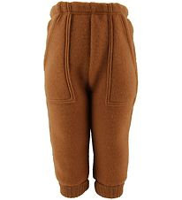 Joha Trousers - Wool - Burned Orange