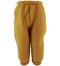 Joha Trousers - Wool - Curry