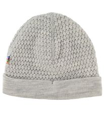 Joha Hat - Double Layer - Wool - Grey