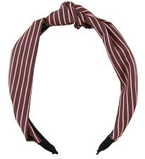 Lehof Hairband - Mary - Brown w. Stripes