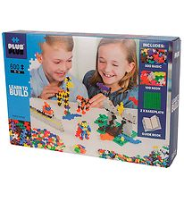 Plus-Plus Mini - 600pcs - Basic/Neon - Learn to Build