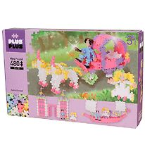 Plus-Plus Mini - 3 in 1 - 480pcs - Pastel - Princess