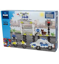 Plus-Plus Mini - 760Pcs - Basic - Police