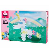 Plus-Plus Big - 50pcs - Pastel - Unicorn