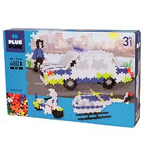 Plus-Plus Mini - 3 in 1 - 480pcs - Basic - Police