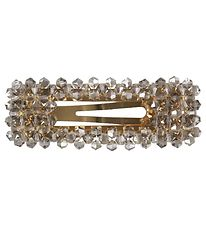 Lehof Hair Clip - Crystal Esther - 7 cm - Smoke