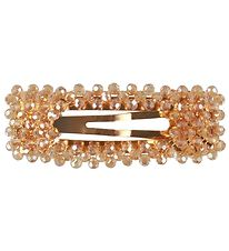 Lehof Hair Clip - Crystal Esther - 7 cm - Champagne