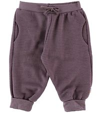 Joha Trousers - Wool - Purple