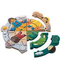 PlanToys Weather Puzzle - Multicolored