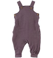 Joha Overalls - Wool - Purple