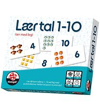 Danspil Learning Game - Danish - Learn to Count  1-10