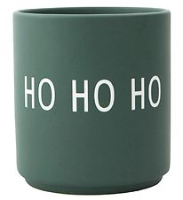 Design Letters Cup - Favourite Cups - Ho Ho Ho - Dark Green