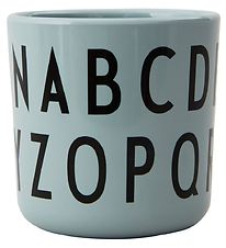 Design Letters Cup - Eat & Learn - ABC Cup - Green