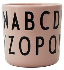Design Letters Cup - Eat & Learn - ABC Cup - Nude