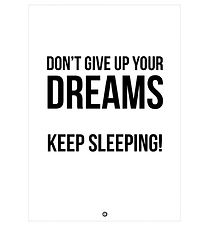 Citatplakat Poster - A3 - Don´t Give Up On Your Dreams