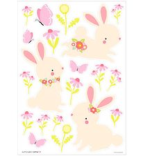 A Little Lovely Company Wallstickers - 35x50 cm - Bunny