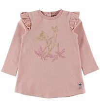 Wheat Disney Sweat Dress - Bambi - Misty Rose
