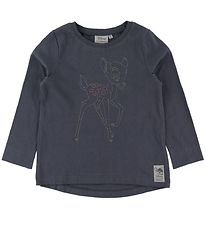 Wheat Disney Long Sleeve Top - Bambi - Greyblue