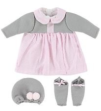 Asi Doll Clothes - 46cm - Grey/Rose