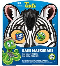 Tinti Mask & Bath Colours/Crackling Bath - Zebra