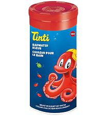 Tinti Bath Colour - 10 pcs. - Red