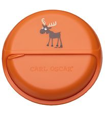 Carl Oscar Snackbox - 15 cm - Orange Moose