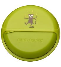 Carl Oscar Snackbox - 15 cm - Lime Monkey