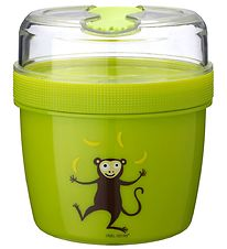 Carl Oscar Lunchbox w. Cooling Element - 13 cm - Lime Monkey
