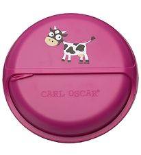 Carl Oscar Snackbox - 15 cm - Purple Cow