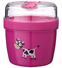 Carl Oscar Lunchbox w. Cooling Element - 13 cm - Purple Cow