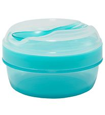 Carl Oscar Snackbox w. Cooling Element - 7 cm - Turquoise