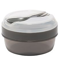 Carl Oscar Snackbox w. Cooling Element - 7 cm - Grey