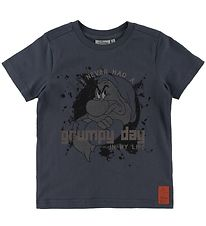 Wheat Disney T-shirt - Grumpy Day - Greyblue