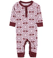 Katvig Jumpsuit - Wool - Rose/Apples