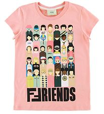Fendi T-shirt - Rose w. Friends