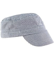 Nordic Label Cap - Worker - UV50+ - Blue/White Striped